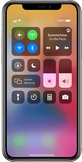 Helderheid aanpassen op iPhone